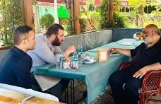 İHH İnsani Yardım Vakfı Başkanı Bülent Yıldırım'dan Abdülhamid Kayıhan Osmanoğlu'na Ziyaret