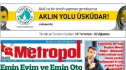 Metropol Gazetesi / Temmuz 2