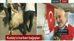 Kızılay Genel Başkanı Dr. Kerem Kınık Kızılay'ın Kurban Vekaletini Anlattı