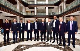 Başkan İsmail Erdem Anadolu Yakası Belediye Başkanları Toplantısına ev sahipliği yaptı