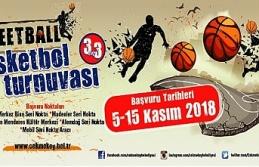 Çekmeköy'de Sokak Basketbolu Turnuvası Başlıyor
