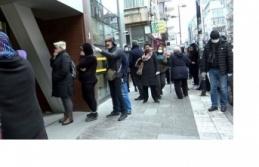 PTT Önünde Bir Metrelik Mesafe Tartışması!
