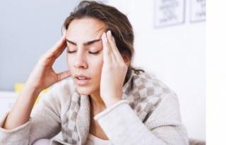 Baş ağrısının nedeni, çene eklemi rahatsızlığı...