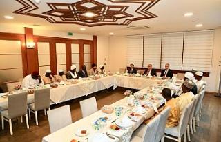 Başkan Hasan Can Çad İslam Konseyi Üyeleriyle...