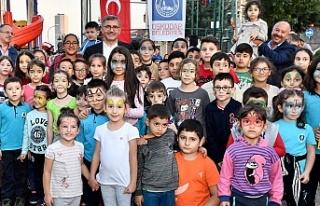 Başkan Hilmi Türkmen Vatandaşlarla Abdulvahap Yıldırım...