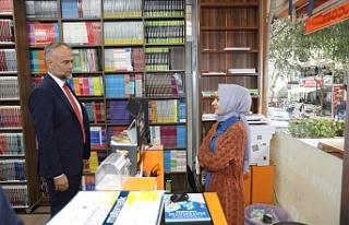Başkan Ahmet Poyraz'dan Mehmet Akif Mahallesi'nde...