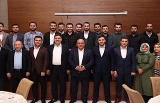 Başkan Hasan Can AK Parti Ümraniye İlçe Gençlik...