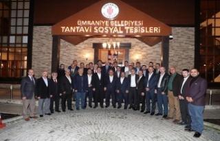Ümraniye İl Dernekler Platformu istişare toplantısı...