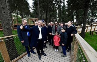 Üsküdar Belediye Başkanı Hilmi Türkmen Nakkaştepe...