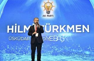 Hilmi Türkmen'den Üsküdar'a 41 Dev Proje