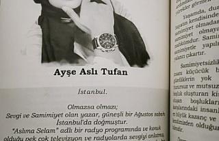"""Röportaj / Yazar Ayşe Aslı Tufan: """"Şairler yürekleri,..."""