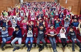 Ümraniye Belediyesi Yarıyıl'da Öğrencileri...