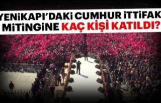 Ak Partiİstanbul Yenikapımitingine bugün kaç...