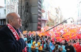 Cumhurbaşkanı Erdoğan Ümraniye Mitinginde Çok...