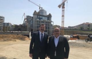 Balıkesir Büyükşehir Belediye Başkanı Yücel...