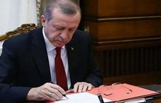Cumhurbaşkanı Erdoğan'dan 5 kritik atama!