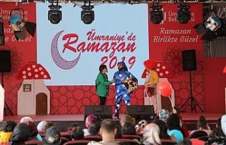 Ümraniye'de Ramazan Etkinlikleri Sürüyor