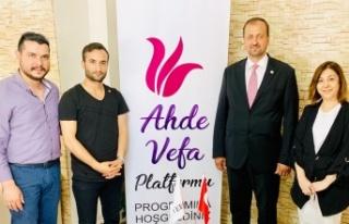 """Ahde Vefa Platformu """"Binali Yıldırım'a Tam..."""