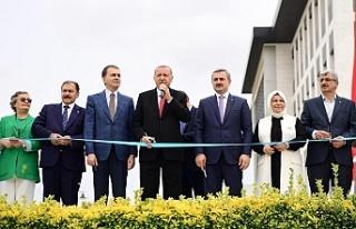 Cumhurbaşkanı Erdoğan'dan Sancaktepe'de...