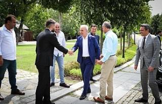Ümraniye Belediye Başkanı İsmet Yıldırım Ümraniye'deki...