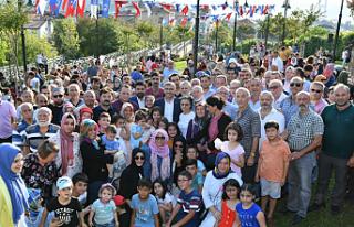 Üsküdar Belediye Başkanı Hilmi Türkmen Halkla...