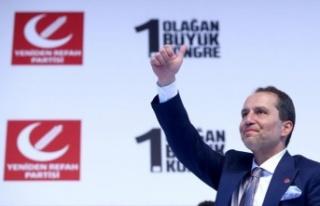 Fatih Erbakan, Yeniden Refah Partisi'nin genel...