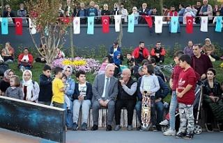 Ümraniye'de Gençler Açılışı Yapılan Kaykay...