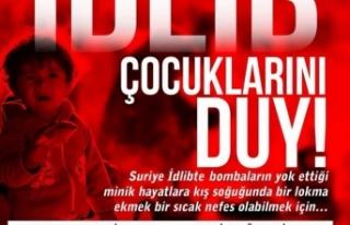 Ataşehir'de Tüm STK'lar İdlib İçin...