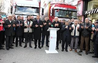 Ümraniye Halkı Elazığ ve İdlib İçin Tek Yürek...