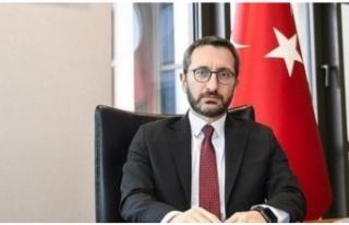 İletişim Başkanı Fahrettin Altun duyurdu: Dünyaya...