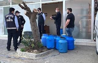 Ümraniye'de mühürlenen süt deposuna 21 bin...