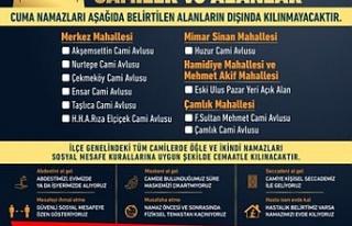 Çekmeköy'de Cuma Namazı ve Vakit Namazı Kılınacak...
