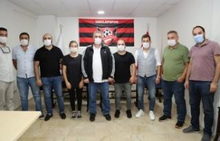 İnkılapspor futbol kulübü altyapı faaliyetlerine...