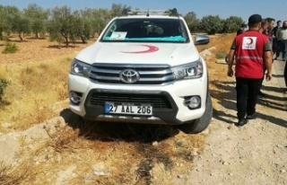 Son dakika haberi: Suriye'nin kuzeyinde Türk Kızılay...