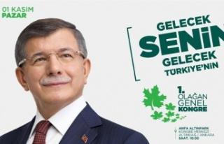 Gelecek Partisinden İstanbul'da Büyük Kongre...
