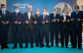 Ümraniye'de Said Kaya Camii İbadete Açıldı