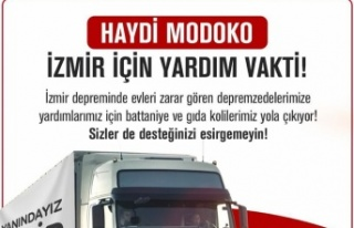 Modoko'dan İzmir'deki Depremzedelere Yardım...