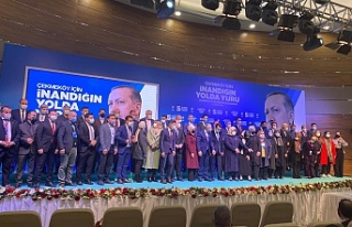 AK Parti Çekmeköy 5. Olağan İlçe Kongresi'nde...