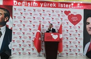 Mustafa Sarıgül, Siirt'te partisinin İktidara...