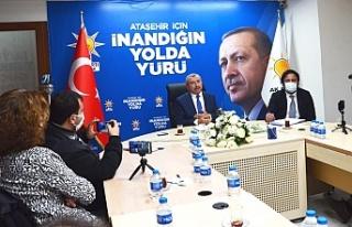 AK Parti Ataşehir İlçe Başkanı İsmail Erdem'den...
