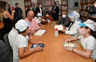 Türkiye'nin 8'nci AVM kütüphanesi Sancaktepe'de...