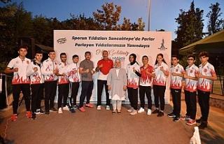 Başkan Döğücü, Sancaktepeli şampiyon sporcular...