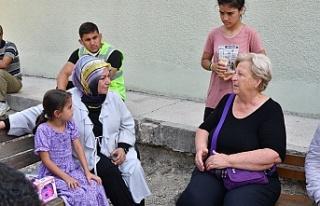 Sancaktepe Belediye Başkanı Şeyma Döğücü yaraları...