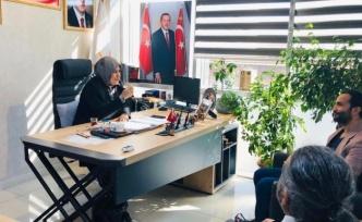 Ümraniye Kadın Kolları Başkanı Hülya Taşçı'ya Ziyaret