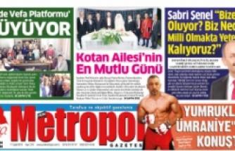 Metropol Gazetesi / Eylül
