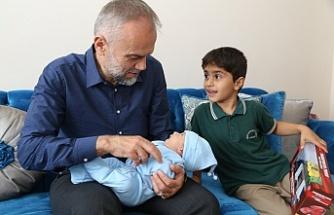 Başkan Ahmet Poyraz'ın Hoş Geldiniz Ziyaretlerinde Adres Bu Kez  Ekşioğlu Mahallesi