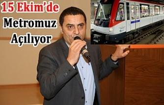 Eyüp Yıldırım müjdeyi verdi! Üsküdar Çekmeköy Metrosu 15 Ekim'de Açılıyor