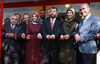 Kızılay tarafından hasta çocuklar için oluşturulan Şefkat Evi ve Çocuk Eğlence Merkezi açıldı