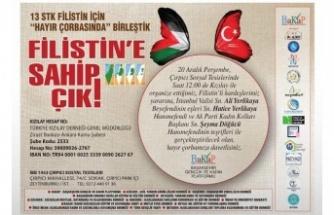 İstanbul'da dev 'Filistin' buluşması