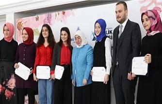 Genç Kadınlar Maarifi Eğitimleri Tamamlandı